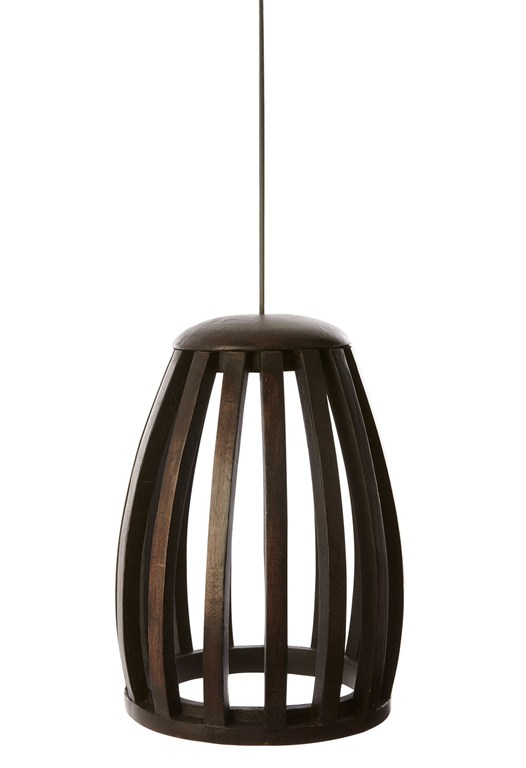 Wooden Cage Light