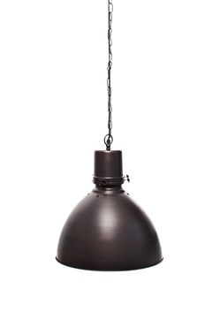 Spun Antique Copper Pendant Light