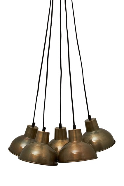 Iron Bell Cluster Light