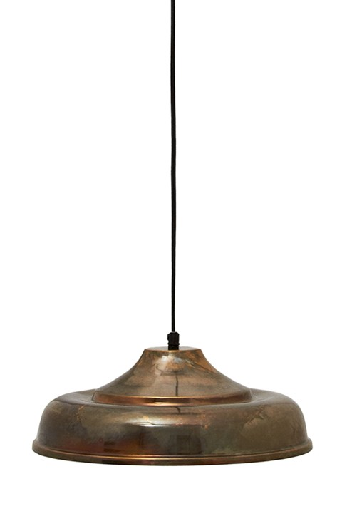 Brass Bistro Pendant Light