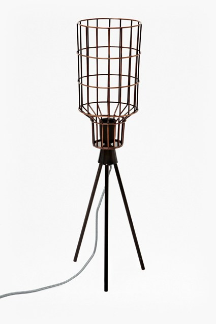 Caged Bird Table Lamp