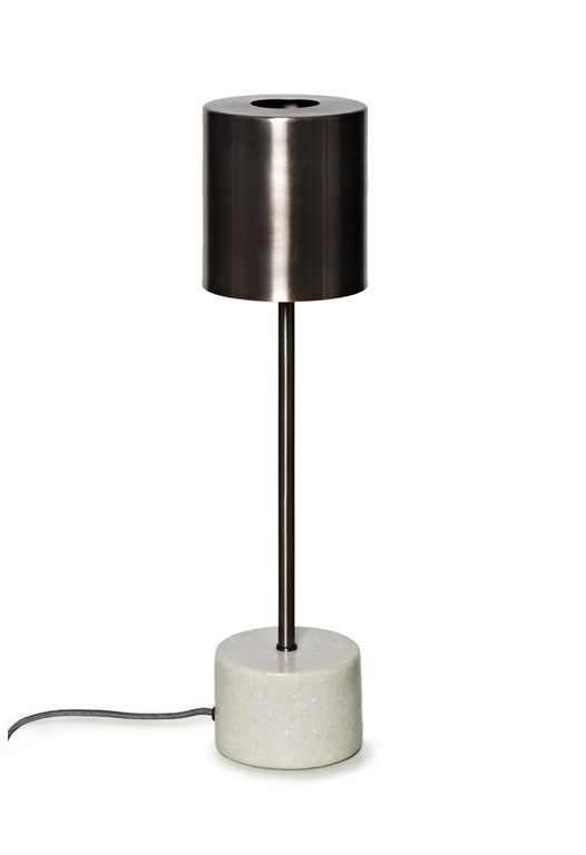 Marbleised Table Lamp