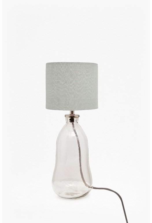 Small Glass Table Lamp