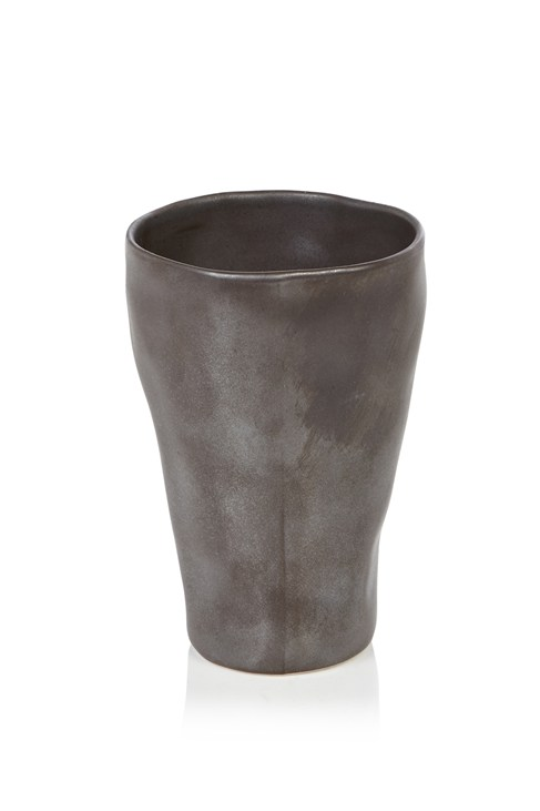 Large Hand Thrown Porcelain Goblet