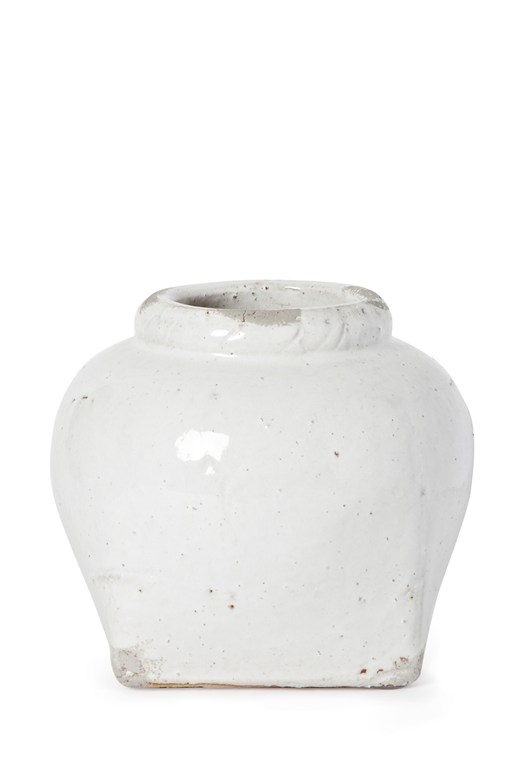 Pot Belly Ceramic Vase