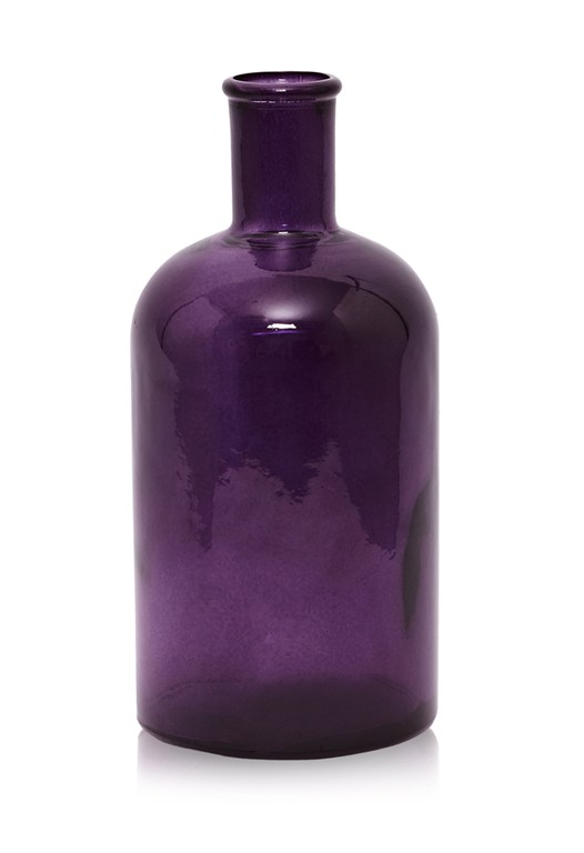 Purple Glass Bottle
