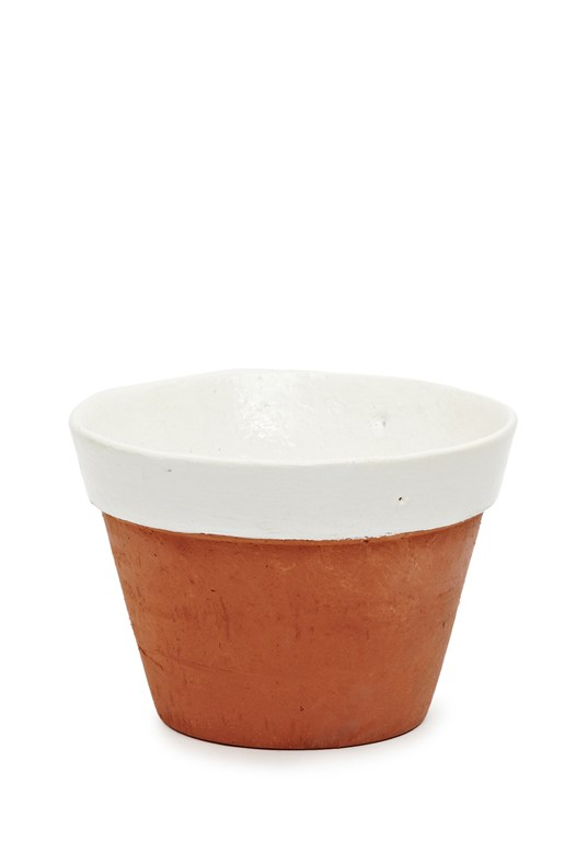 Dipped Terracotta Pot