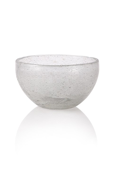 Seeded Glass Bowl