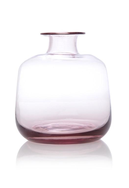 Lilac Mini Glass Vase