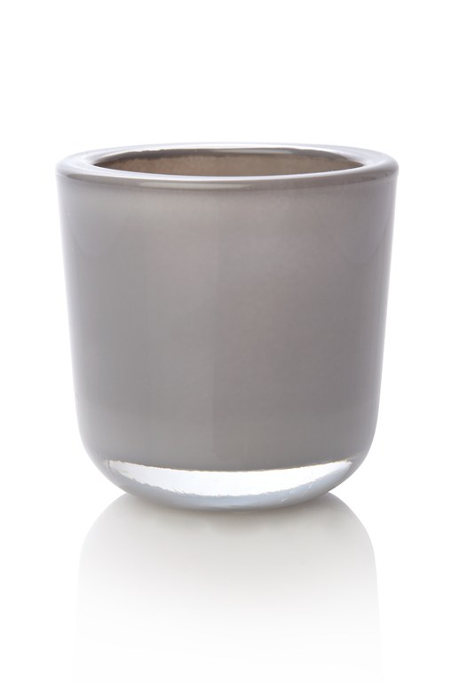 Cased Votive Grey