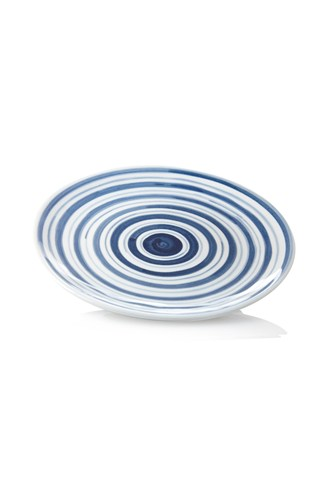 Tabletop Stripes Ceramic Side Plate