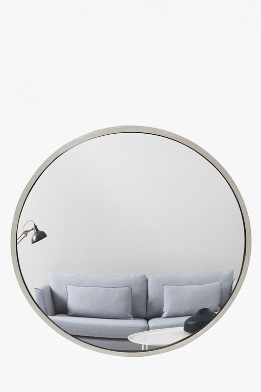 Complete the Look Nickel Fisheye Mirror