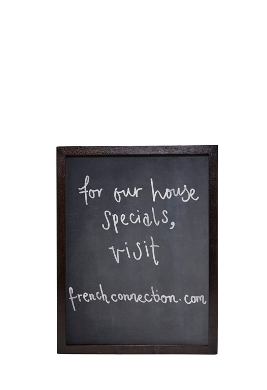 Burnt Wood Bistro Chalk Board