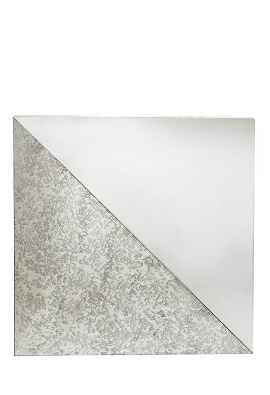 Two Tone Square Mirror