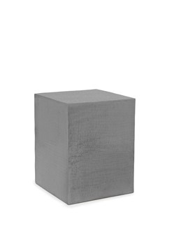 Hammered Cube Side Table
