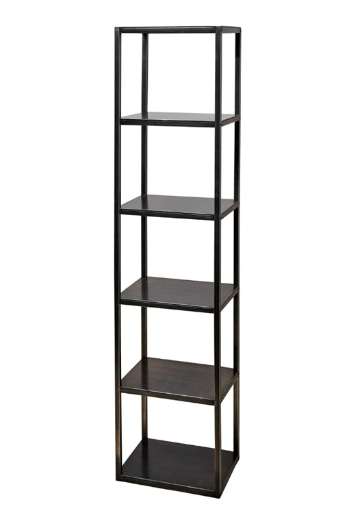 Gunmetal Shelving