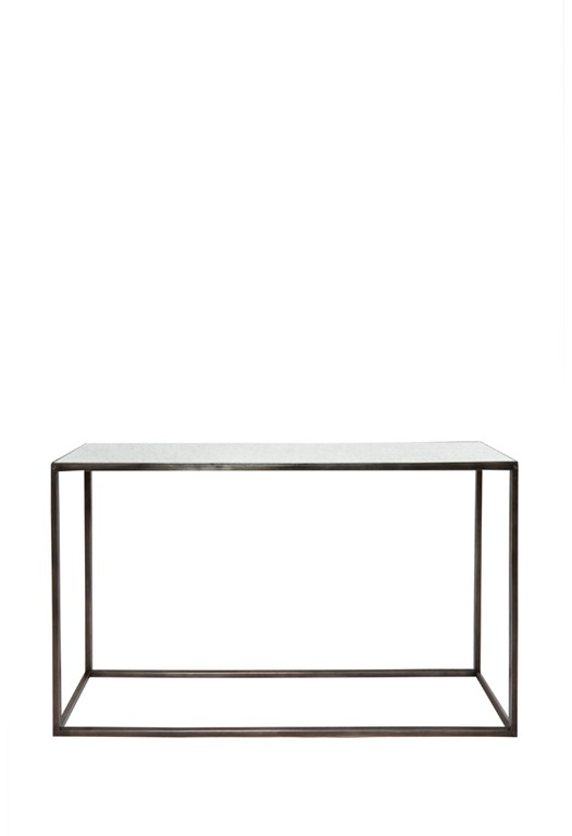 Rectangle Mirror Coffee Console