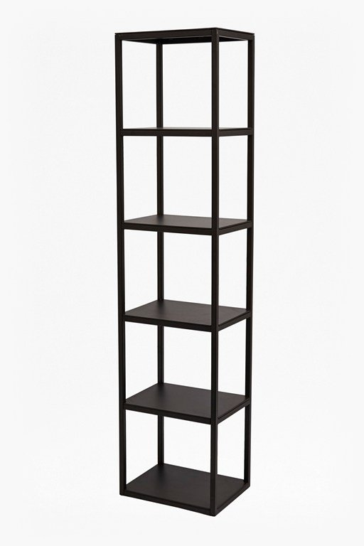 Complete the Look Gunmetal Shelving Unit