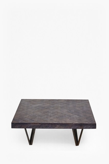 Square Parquet Coffee Table