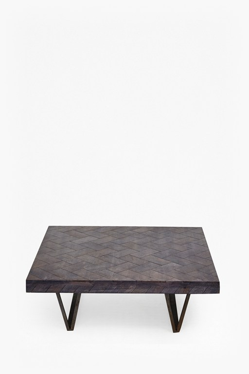 Complete the Look Square Parquet Coffee Table