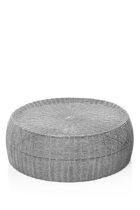 Woven Zinc Coffee Table