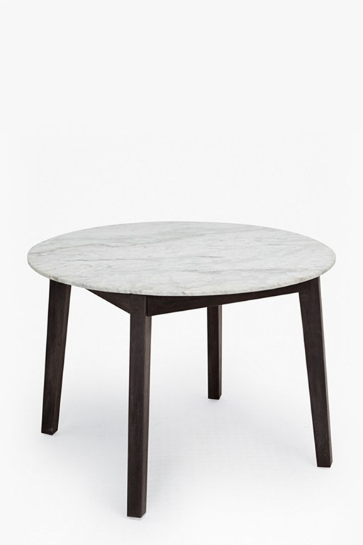 Complete the Look Agra Round Marble Dining Table