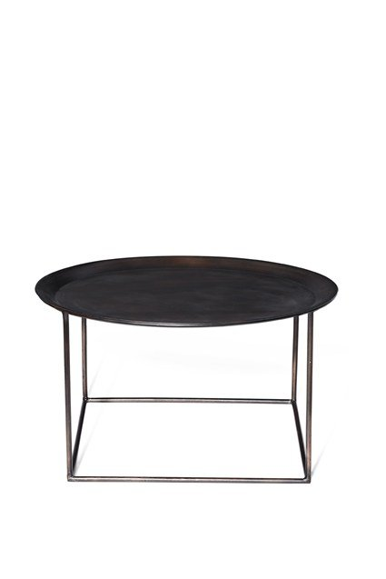 Round Steel Coffee Table