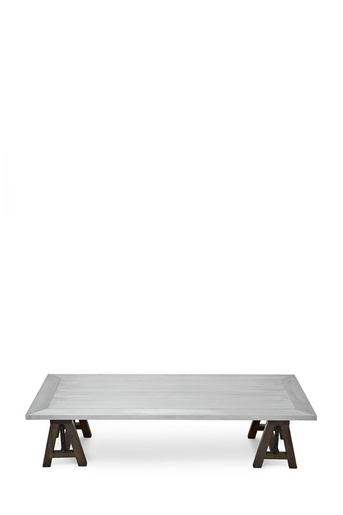 Zinc Rectangular Coffee Table