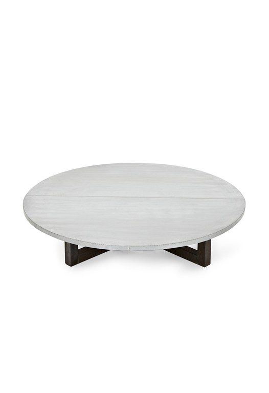Zinc Round Coffee Table