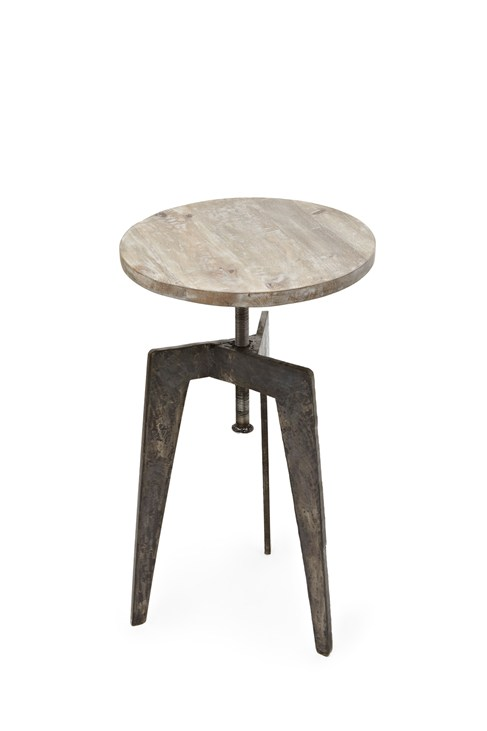Iron Lamp Table