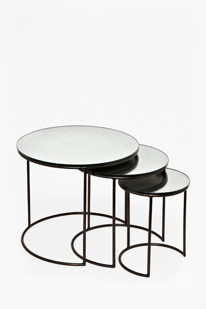 Mercurised Nest of Tables