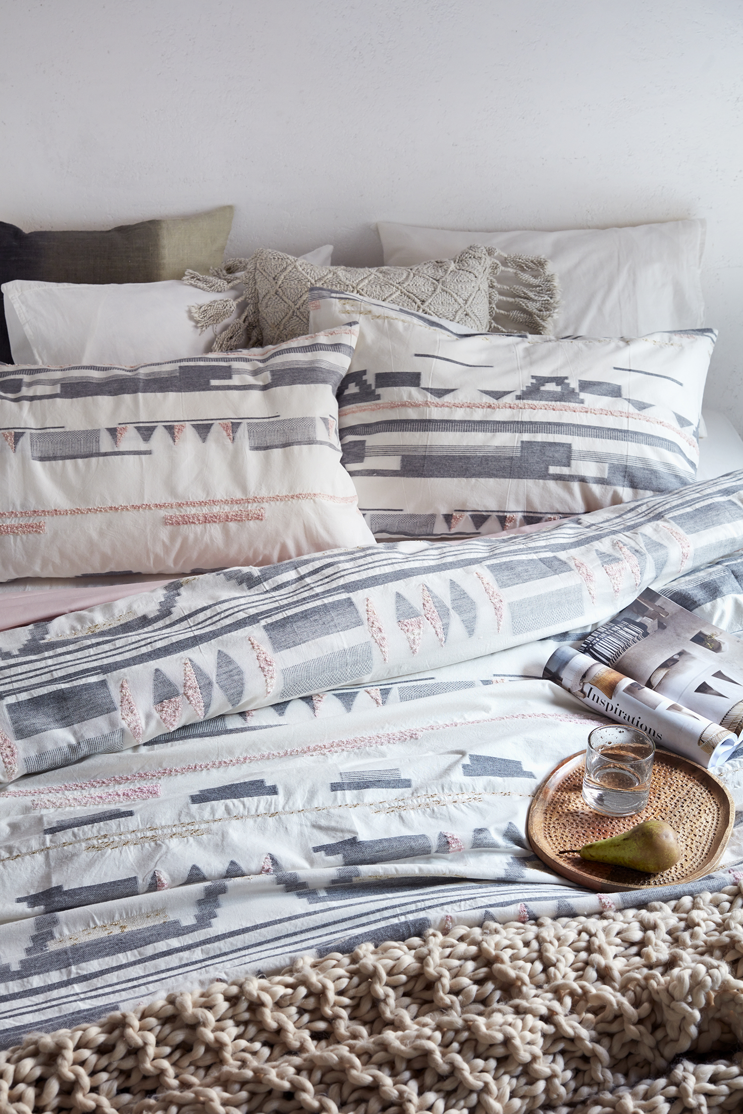 Mexico King Size Bedding Set Collection French Connection