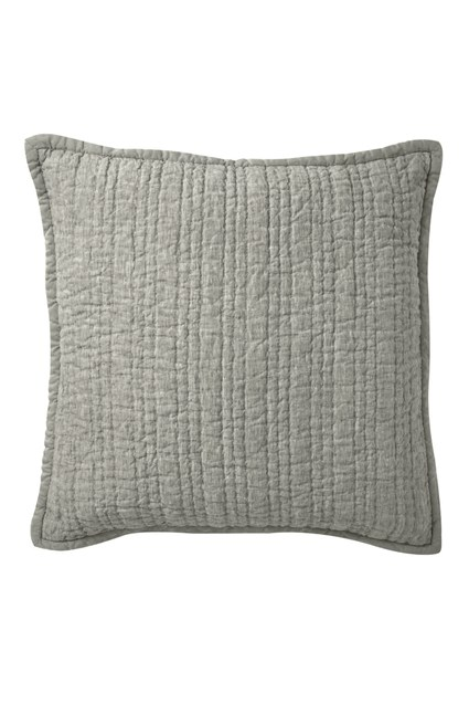 Stitched Linen Cushion Cover