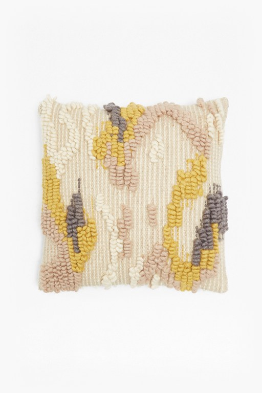 Complete the Look Knitted Loop Cushion