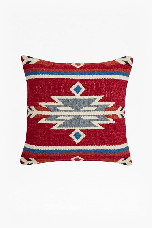 aztec colour cushion