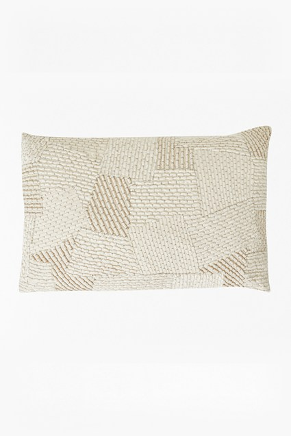 Ripple Patchwork Cushion