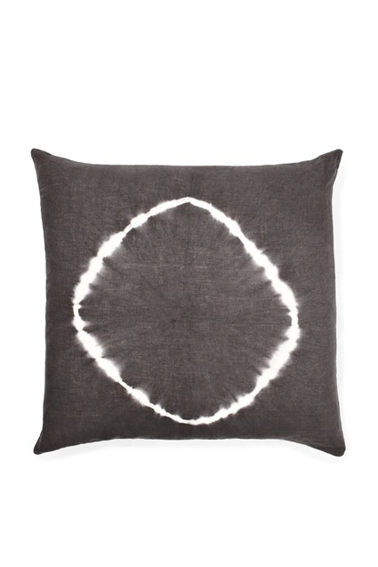 Tie Dye Circle Linen Cushion