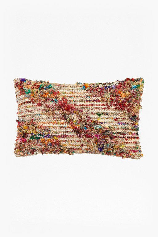 Complete the Look Chindi Woven Cushion