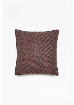 Braided Leather Cushion
