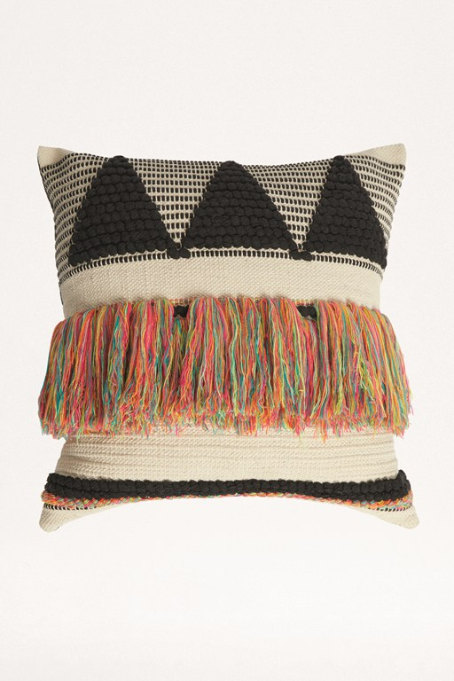 candy tassel cushion