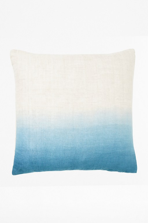 sapphire ombre cushion