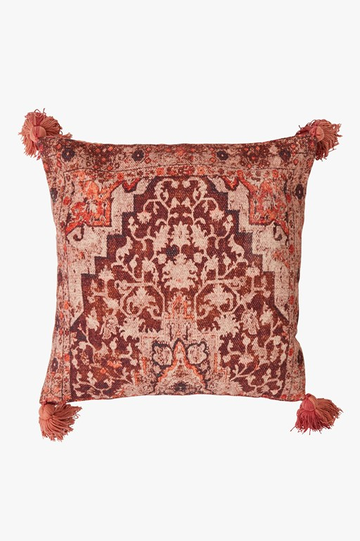 spiced bloom cushion cover