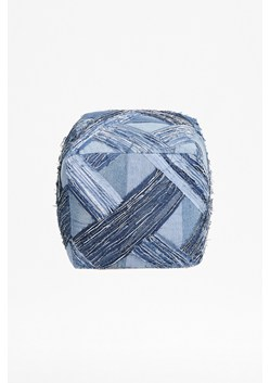Recycled Denim Pouffe