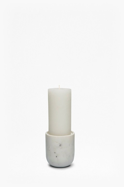 pillar candle holder - small
