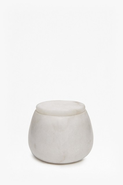 Round Alabaster Filled Votive