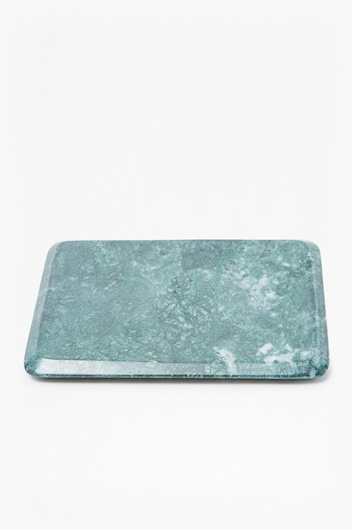 Complete the Look Green Marble Serving Platter