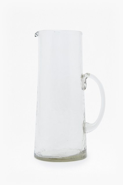 Large Hammered Tapered Pitcher