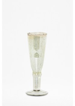 Luxe Green Recycled Glass Champagne Flute