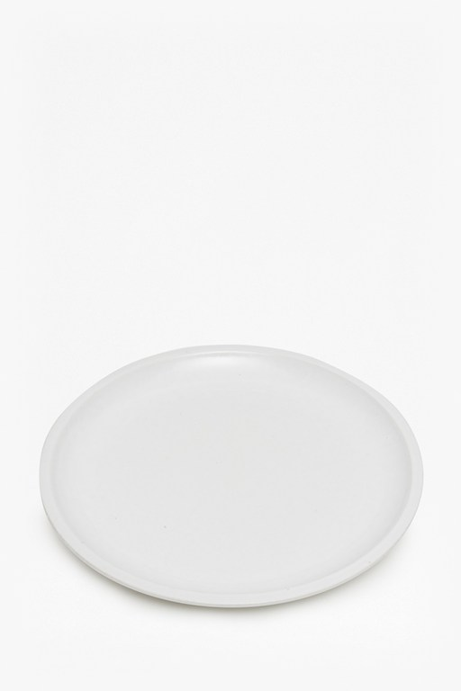 Complete the Look Artisan White Dinner Plate