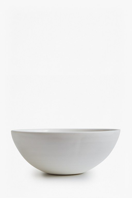 Complete the Look Artisan White Bowl